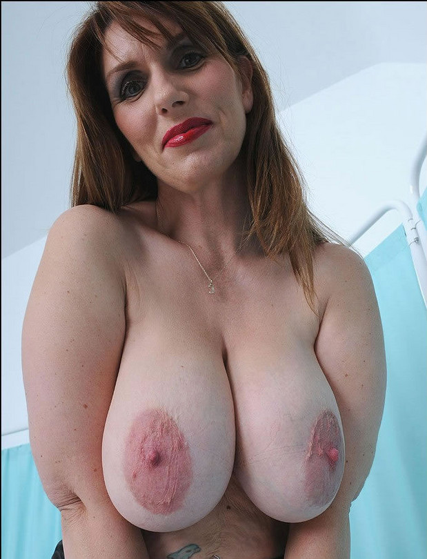 huge tits mature