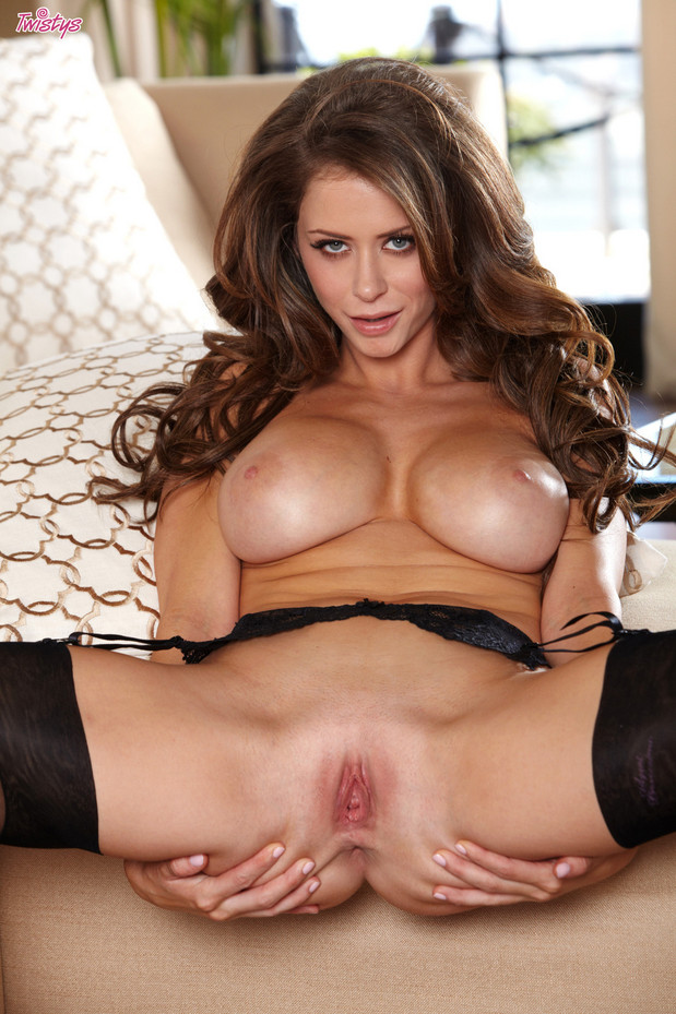 Emily Addison Shows Her Hot Big Jugs Tits