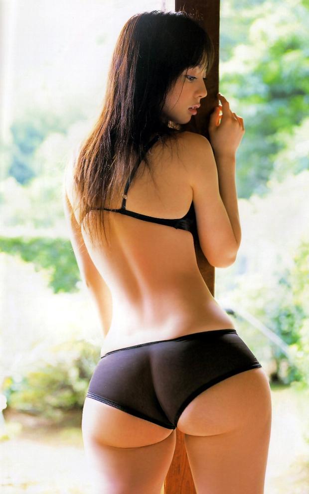 Nude yoga instructor