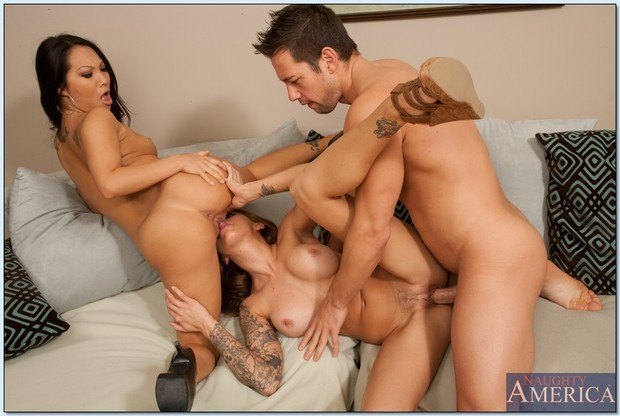 Asian porn star threesomes