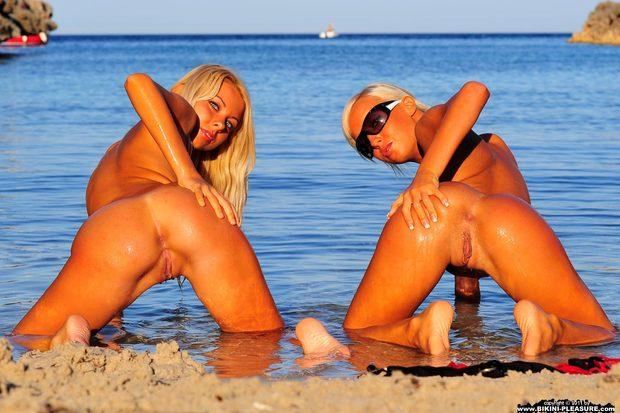 смотреть видео эротику море пляж бикини онлайн