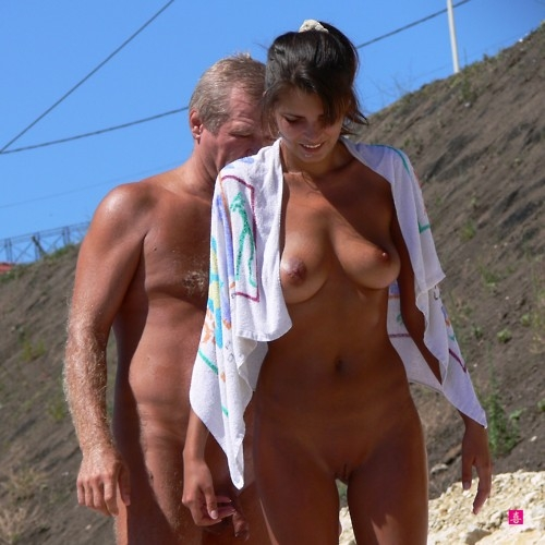 MatureMania; Brunette MILF Hot College Beach