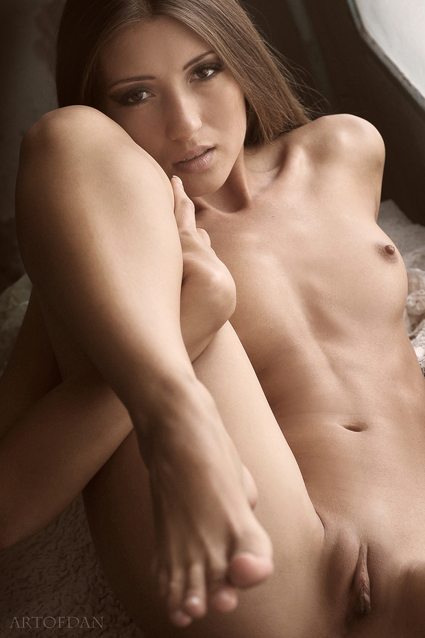 ...; Babe Brunette Hot Pussy
