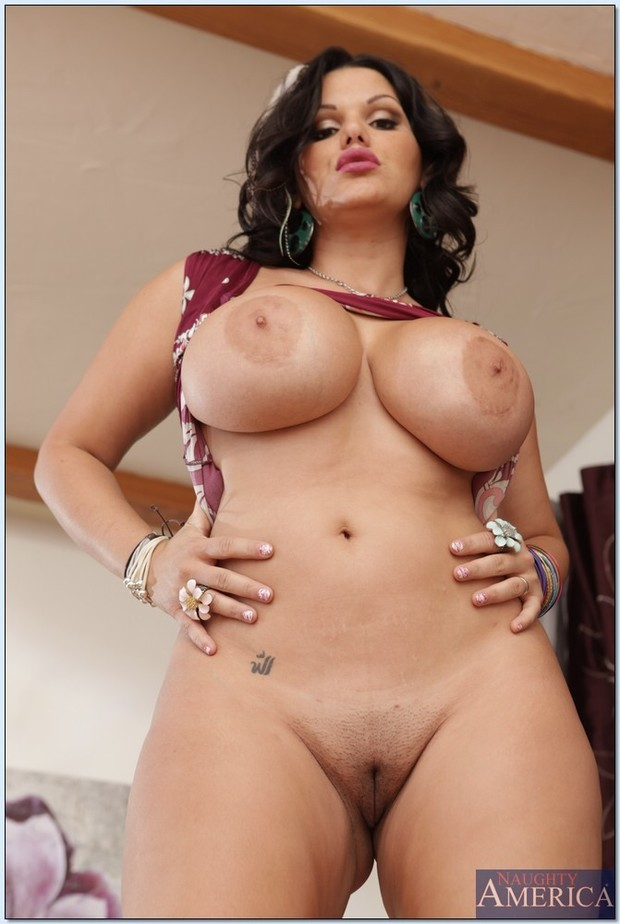 ... busty-latina-milf-angelina-castro-spreading-legs-to-show-shaved-cunt