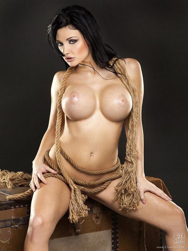 ...; Aletta Ocean Big Tits Brunette Hot