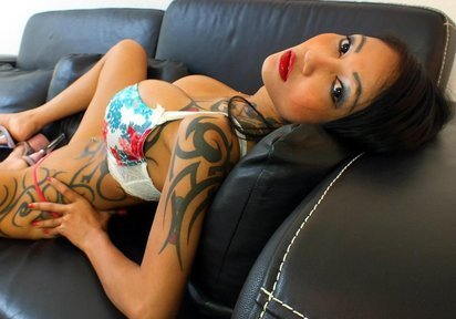 ...; Asian Babe Big Tits Camgirl Girlfriend Hot Tattoo