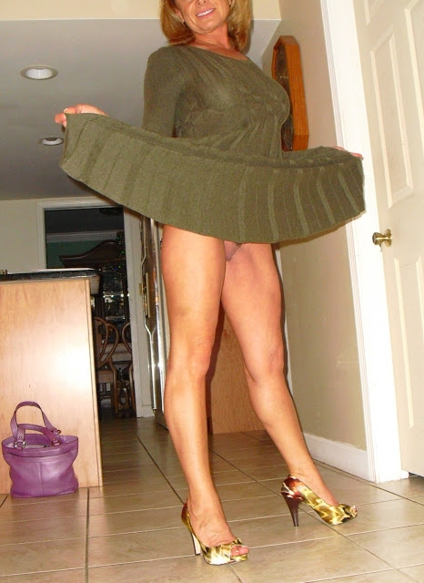 Matures in skirts
