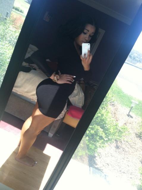 ...; Hot Latina Non Nude Selfshot