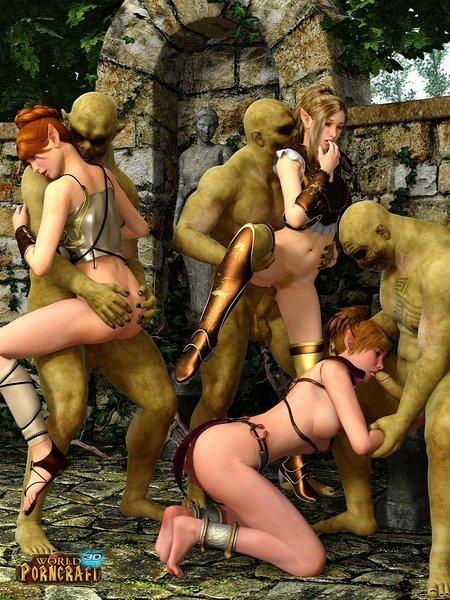 Порно фото эльфов