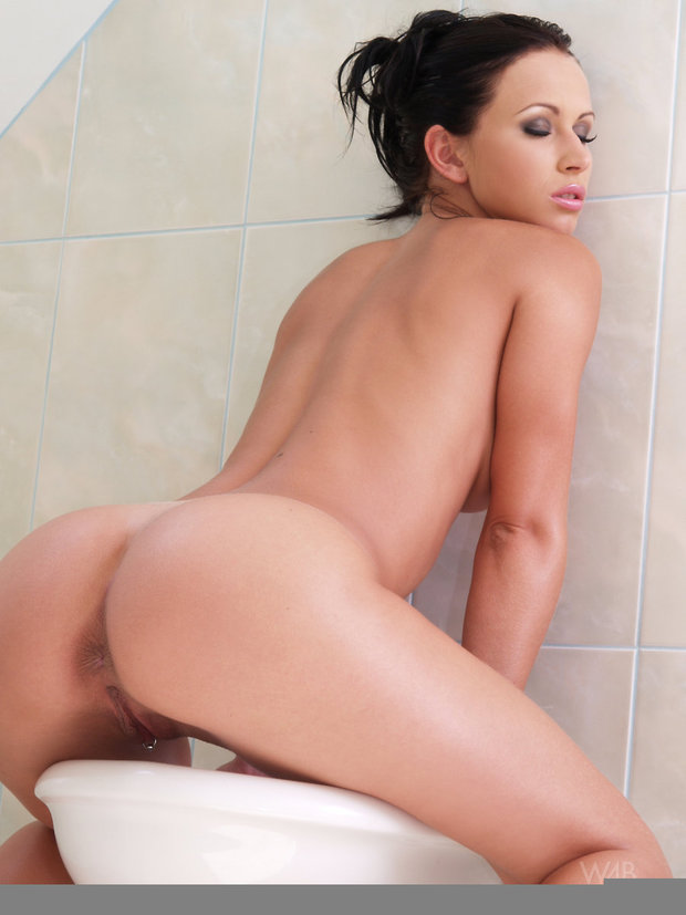 ...; Ass Babe Brunette Hot Pierced