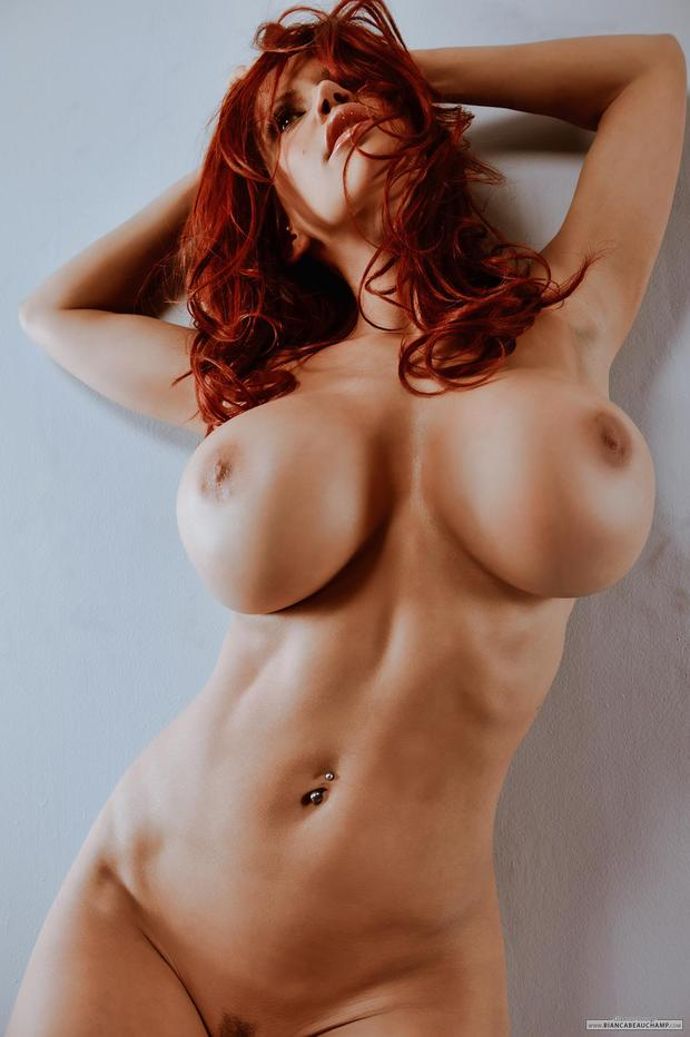 ...; Babe Big Tits Hot Red Head