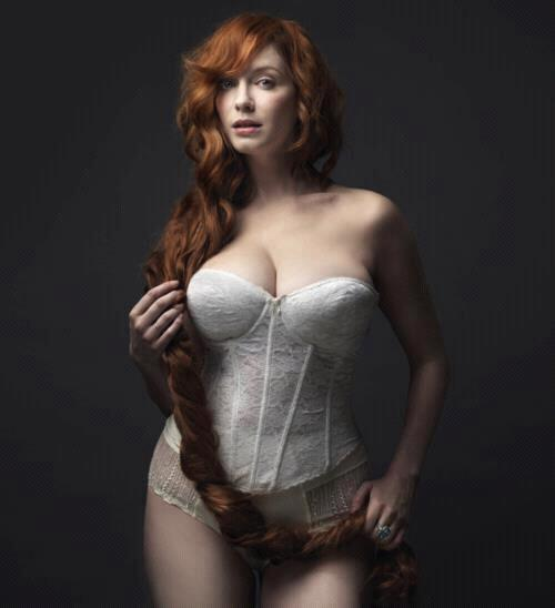 ...; Big Tits Celebrity Red Head