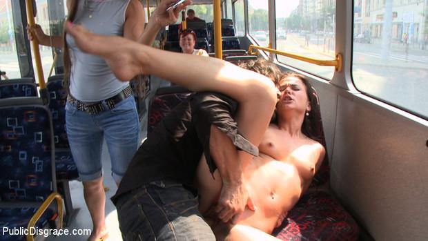 лучшее порно отодрали телку в транспорте видео шкаф, хитро поманив