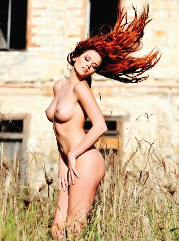 ...; Hot Red Head