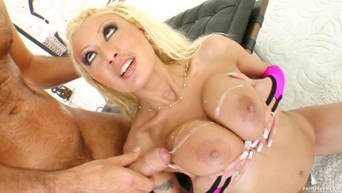 all across her boobies; Big Tits Cumshots Hardcore Hot