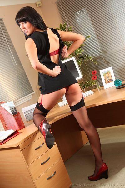 Naughty Secretary Lexi Lowe; Hot British
